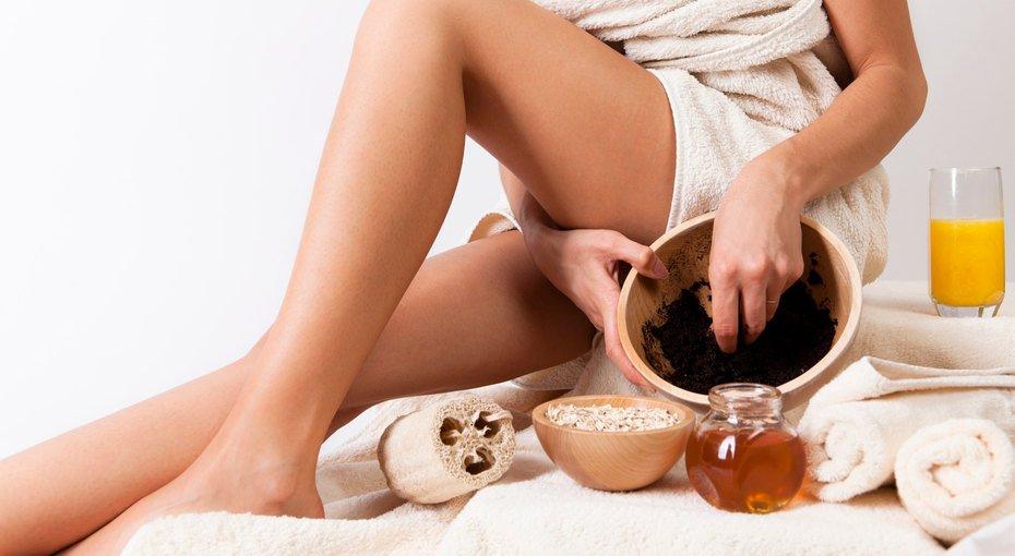 Отшелушивание кожи тела