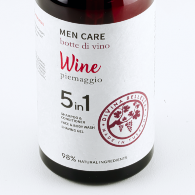 Men care 5 in 1 Botte di Vino Очищающий гель для мужчин 5 в 1 Винная бочка фото 3